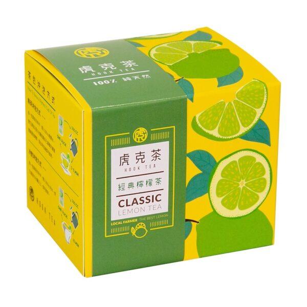 虎克檸檬茶10入